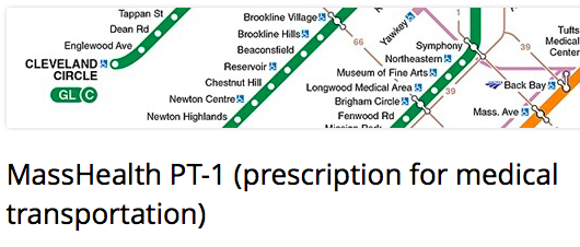 Individuals Insured By MassHealth May Be Eligible For Non Emergency Transportation PT 1 Or Prescription Medical When